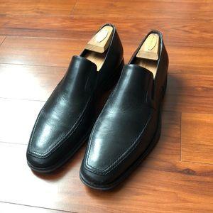 Bruno Magli Black Leather Men's Raging Loafer